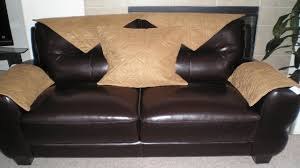 slipcovers for leather sofas leather covers keep up with fashion home decor