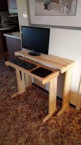 Computer Desk Small Computer Desk Wood Desk Small Desk Nested Desk Compact