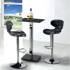 glass pub table and chairs veron square glass bar table in black with 2 cindy bar stools