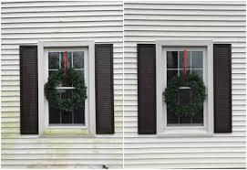 window wreaths schultz exterior window christmas wreaths