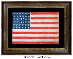 13 Stars In The United States Flag Bonsell Americana An Antique Flag Company All Offerings