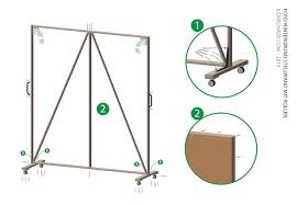 How To Make A Backdrop Build A Background Wall On Wheels Diy Photography
