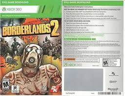 download full version xbox 360 games free borderlands 2 full game download code card microsoft xbox 360 live