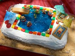 16 2016 cakes images swimming pool cakes