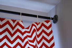 pipe curtain rod dreams u0026 a guest post cassie bustamante