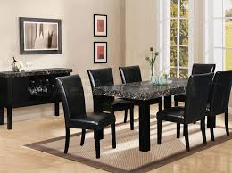 black dining room sets unique black dining room table chairs best 25 granite dining table