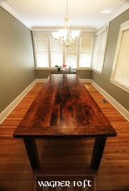 how to finish a table top with polyurethane custom harvest table in windsor ontario made from reclaimed