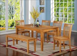 Narrow Rectangular Kitchen Table by Kitchen Round Dining Table Set Dining Bench With Back Square