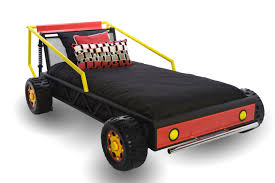 race car twin bed mor furniture for less