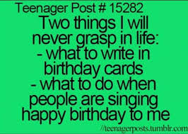 Funny Teenage Memes - birthday traditions are just confusing in general what i do