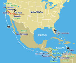 Map Of Cabo Mexico by Westworldtours 18th Anniversary Panama Canal Cruise