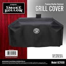 Brinkmann Dual Function Grill Reviews by Amazon Com Smoke Hollow Gc7000 Grill Cover Outdoor Grill