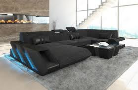 Modern Furniture Warehouse New Jersey by Fabric Sofa New Jersey U Shape Led With Usb Connection