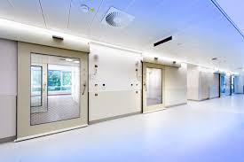 hermetic sealing doors for hospitals and clean rooms