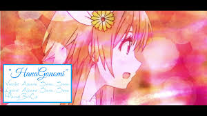 heart pattern lyrics nisekoi english hanagonomi nisekoi akane sasu sora youtube