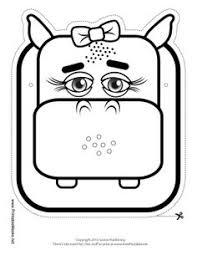 freebie week halloween printable coloring masks