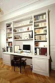 bibliothèque bureau intégré bureau avec bibliothaque bibliotheque bureau integre atypique design