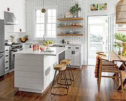 joanna gaines farmhouse kitchen with cabinets joanna gaines iacute color secret for a kitchen with wow