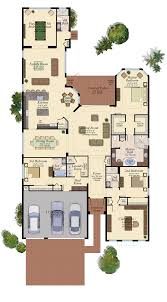 Charleston Floor Plan by Stonecreek In Naples Florida