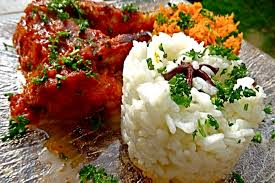 cuisine poulet basquaise recette de poulet basquaise riz sauvage facile et rapide