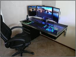 Best Gaming Pc Desk Best Gaming Desks 2015 Desk Home Furniture Design