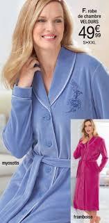 robe de chambre damart damart promotion robe de chambre velours produit maison