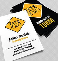free business card templates for a handyman business u0026 careers
