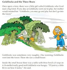 grade 1 reading lesson 22 fairy tales goldilocks and the three