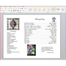 Sample Of Wedding Programs Ceremony How To Write A Wedding Program Using Microsoft Word