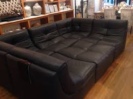 Oversized Leather Sofa Chaise Sectional With Sectionals Large Sofas Sofa Oversized