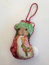 m toad wind in the willows needlepoint ornament beautiful