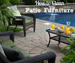 How To Clean Patio Chairs How To Clean Outdoor Patio Furniture Guide Pro Tips Install It