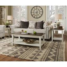 cheap white coffee table white coffee table sets you ll love wayfair