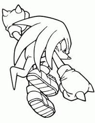 sonic hedgehog coloring pages shadow cartoon