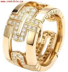 bvlgari rings online images Women 39 s bvlgari yellow gold 18k diamond an854230 us 6 5 ring jpg