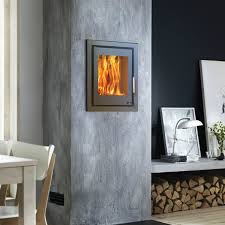 wood burning wall contemporary wood burning stoves for the designer look glowing