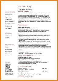 Territory Manager Job Description Resume 7 Territory Sales Manager Resume G Unitrecors