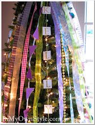 Best Way To Decorate A Christmas Tree How To Decorate A Christmas Tree With Ribbons In My Own Style