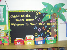 aloha kindergarten bulletin board linky party
