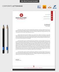 Business Letterhead Templates Word by 25 Professional Modern Letterhead Templates