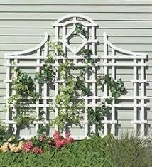Garden Trellis Design by Trellis Wall Down Hill Garden Trellis Design Ideas Gardening