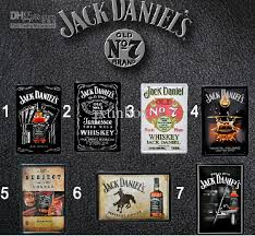 wall decor for home bar hot sale jack daniel vintage metal tin sign decor home bar cafe