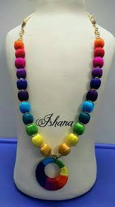 Jewelry Making Design Ideas Pin By Mrudula Vellapalem On Silk Thread Jewellery Ideas