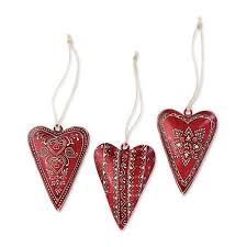 silvestri small metal ornaments 3 assorted 2020140578