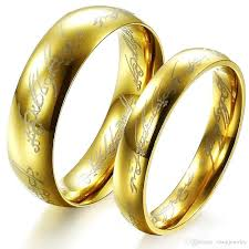 all wedding rings images 2018 free custom engraving the hobbit lord of the rings one ring jpg