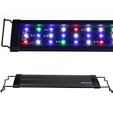 18 aquarium light fixture 12 18 24 30 36 48 72aquarium led light 0 5w multi color full spec