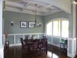 Wainscoting Dining Room Interior Wainscoting Ideas Classical Carving Wooden Dining Table