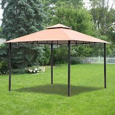 Backyard Collections Patio Furniture by Replacement Canopy For Bc Metal Gazebo Garden Winds