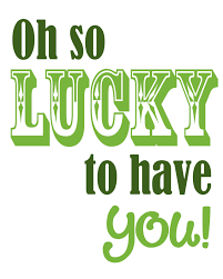St Patrick S Day Home Decorations We U0027re Lucky To Have You Our Pinterest Friends To Find The