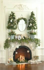 fireplace minimalist fireplace christmas decoration ideas for
